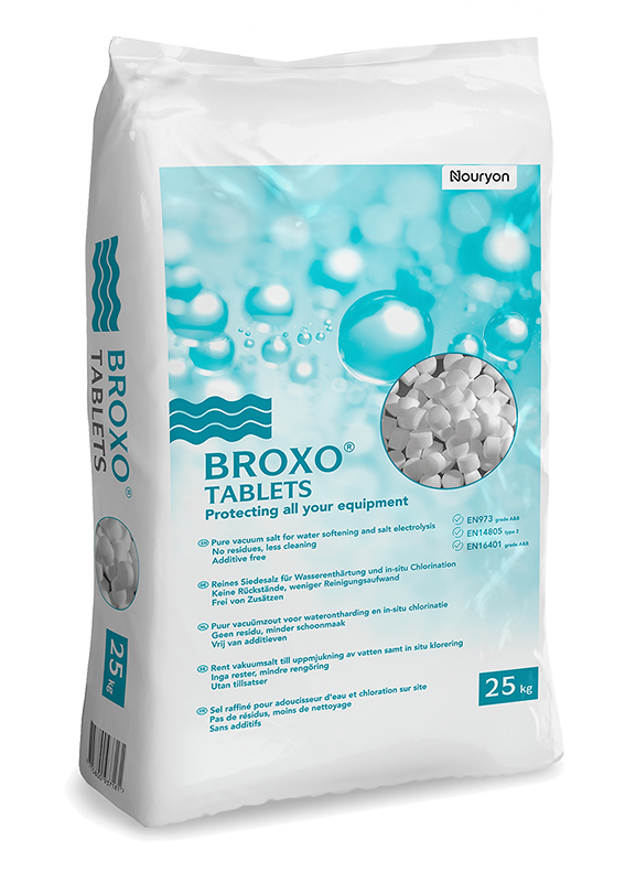 BROXO salt tablets